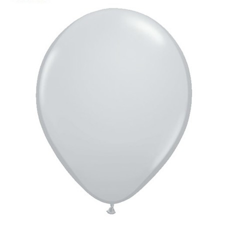 11in Gray<br>Latex Balloon