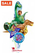 Good Dinosaur Birthday Bouquet Balloon Bouquet
