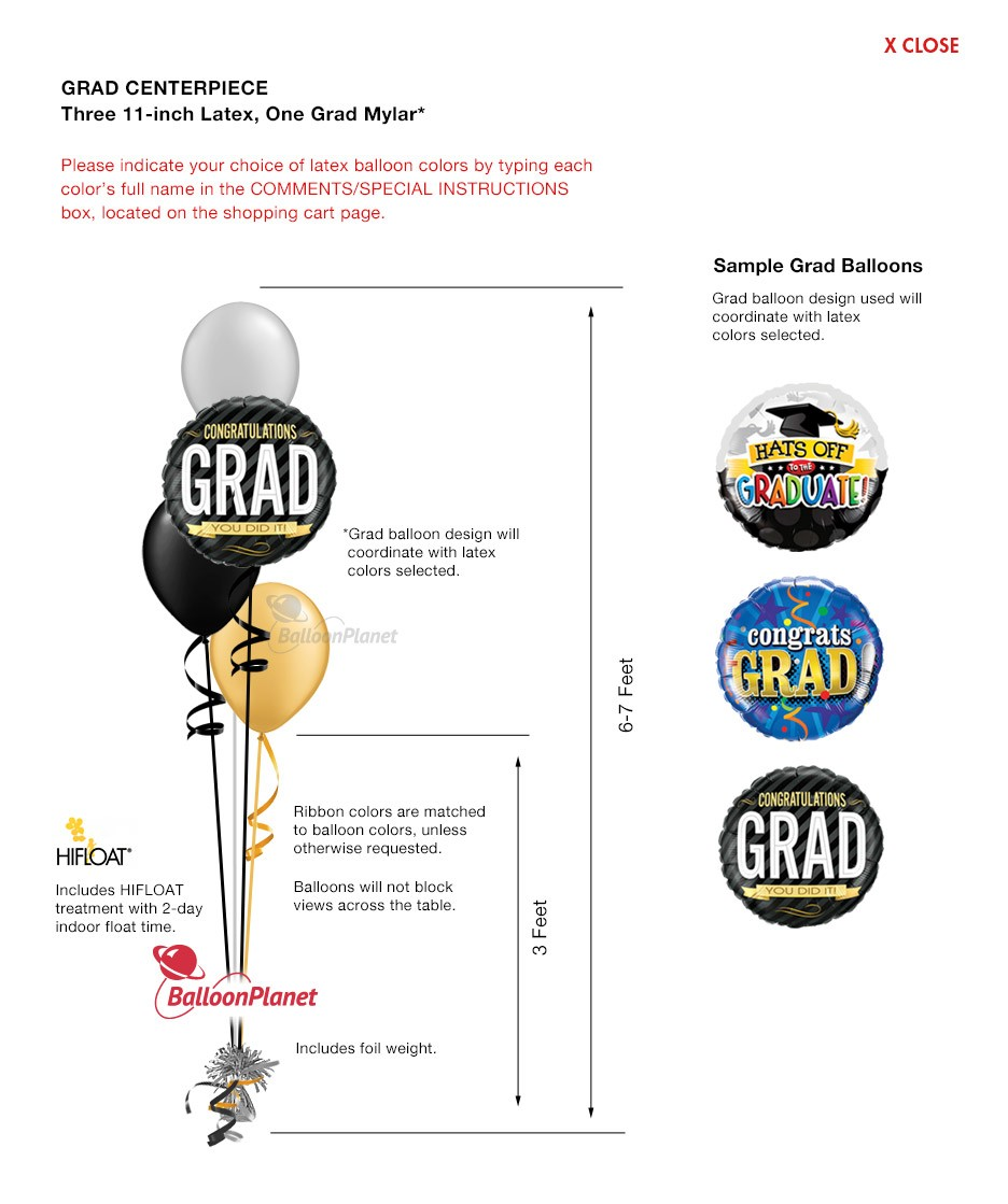 Balloon bouquet delivery balloon decorating 866 340 - Theme Graduation Balloon Decor Professionally Arranged And Hand Delivered By Balloonplanet Com