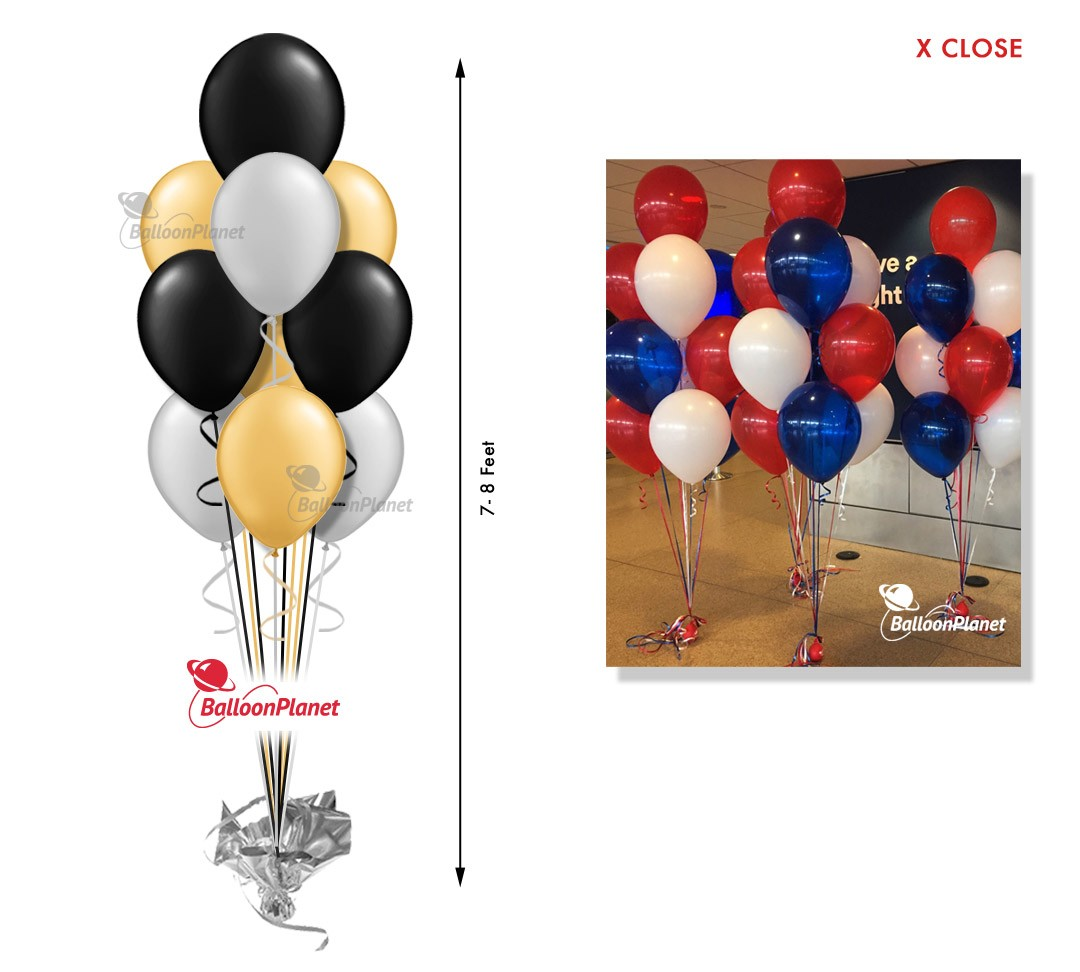 Balloon bouquet delivery balloon decorating 866 340 -  10 Large Balloons