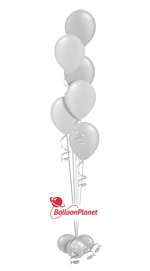 Baby Shower Balloon Centerpiece Select Your Colors (6 Balloons)
