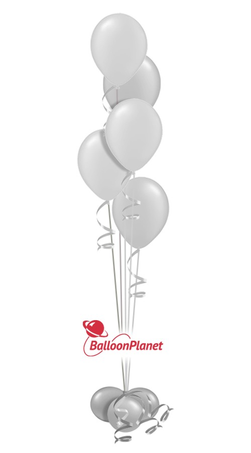Baby Shower Balloon Centerpiece Select Your Colors (5 Balloons)
