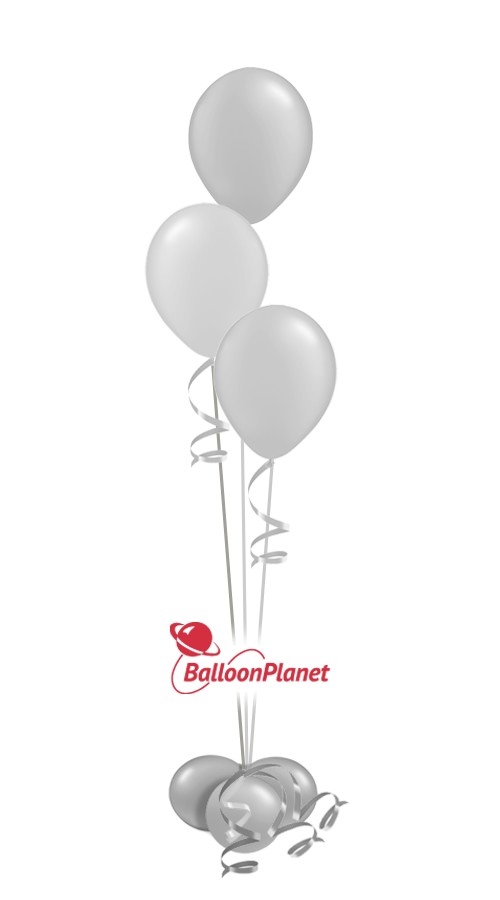 Baby Shower Centerpiece Select Your Colors (3 Balloons)