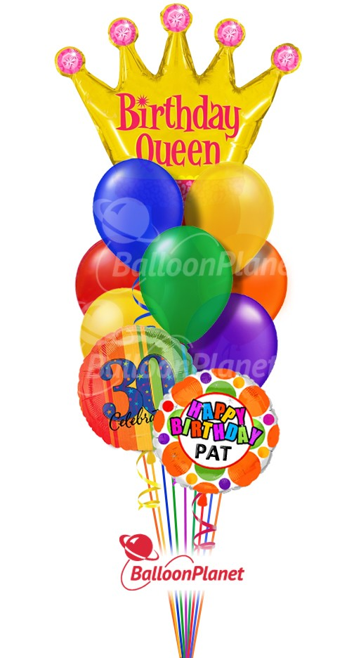Birthday Balloon Bouquets Delivery By Balloonplanet Com