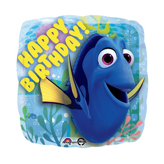 Finding Dory Birthday Balloon