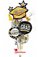Class Act Grad Balloon Bouquet Balloon Bouquet