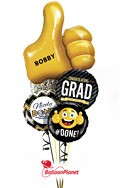 Thumbs Up Grad Balloon Bouquet Balloon Bouquet
