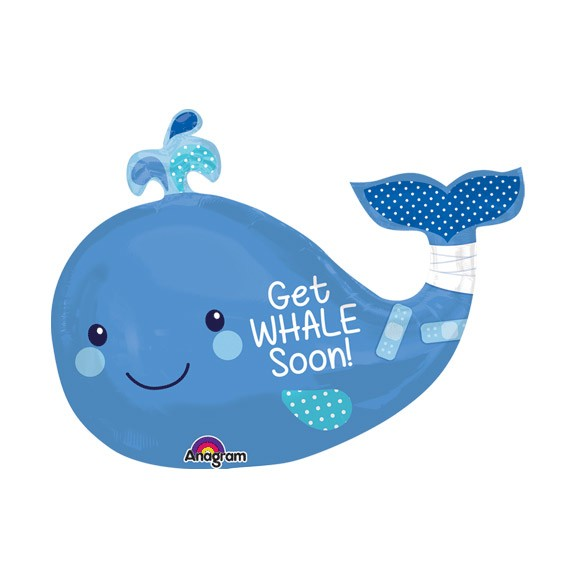 Get Whale Soon!<br>Balloon